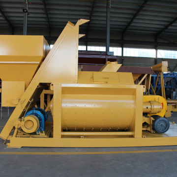 Best selling mini double shaft concrete mixer Oman