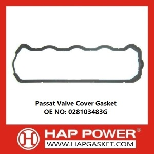 Factory supplied for China Durable Valve Cover Gasket, Rubber Valve Cover Gasket, Wear Resistant Valve Cover Gasket Supplier Passat Valve Cover Gasket 028103483G export to Sao Tome and Principe Importers