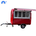 Jualan Hot Street Mobile Fast Food Carts Trailer