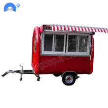 Fast Food Truck Mobile Food Trailer en venta