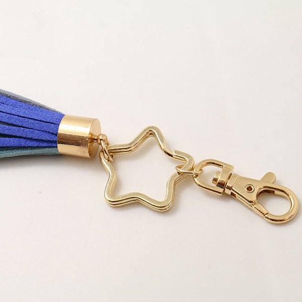 Colorful South Korea Velvet Fringe Keychain
