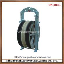 heavy duty wire cable rope pulleys sheaves