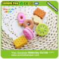 Rubber Eraser, Dog Biscuit Shaped Tpr Soft Eraser
