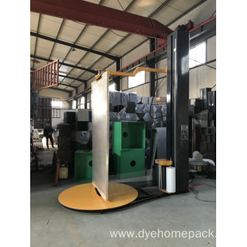 autoamtic windows door wrapping machine