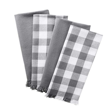 Manufacturer of for Cotton Jacquard Tea Towels Cotton Dish Towels with Decorative Fringe supply to France Manufacturer
