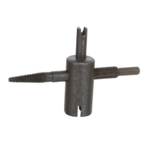 Hardened steel 4-way valve repair tool Tire Valve Tool