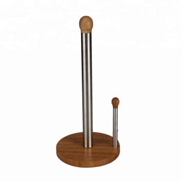 Free-Standing Dual Pole Stainless Steel  Towel Holder