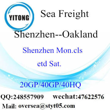 Shenzhen Port LCL Consolidation To Oakland