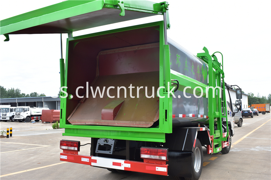 waste management recycling truck cost