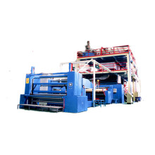 Non woven fabric manufacturing machine