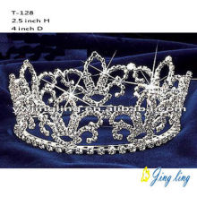 Custom Flower Full Round Pageant Crown