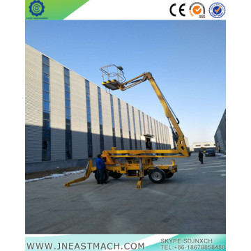 16m Self-Drive Telescopic Articulating Boom Lift​