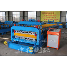 Double Layer Glazed Tile Roll Forming Machine