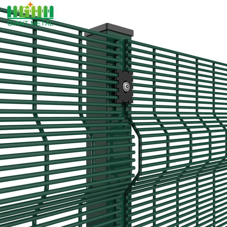 High Security Galvanized 358 Farm Security Fence
