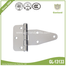 Stainless Steel T-Strap Flat Door Hinge Bolt On