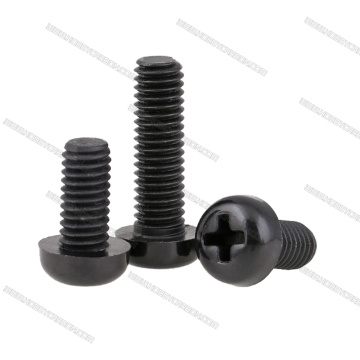 M3x6mm phillips Screws Nylon Ireng