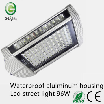 Waterproof aluminum housing 96W led street light