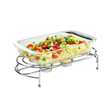 wire chrome plated food warmer
