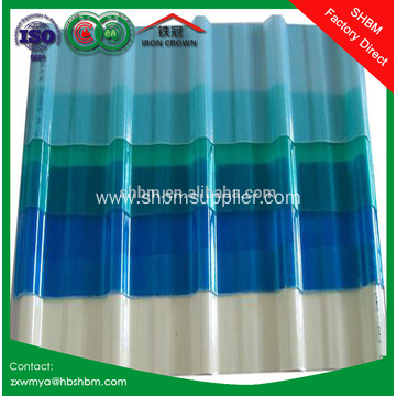 Transparent UV Blocking Mgo Roofing Sheet