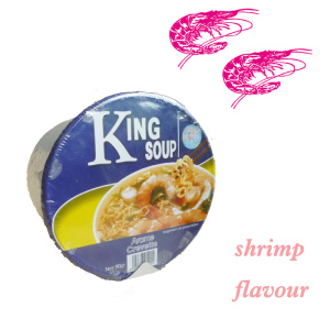 all kind of flavour cup instant noodles