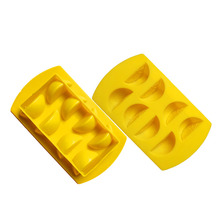 Lemon lego ice mold silicone ice cube tray