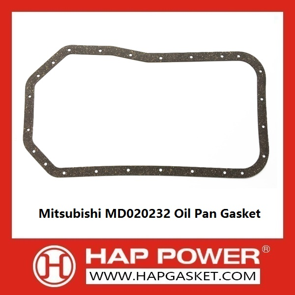 HAP300013 Mitsubishi MD020232 Oil Pan Gasket