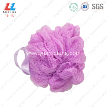 shower pouf fizzy mesh bath sponge