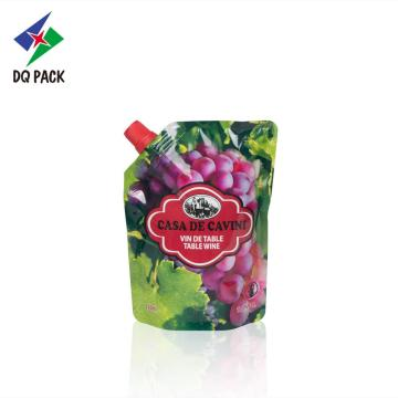Fruit Juice Doypack Pouch With Spout