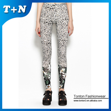 Purchasing for Fashion Leggings sexy girl's leggings printed lycra spandex tights supply to Congo Factories