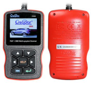 Short Lead Time for for Obdii Code Reader Creator OBDII Multi-System Scanner for FIAT Scan Tool supply to Australia Manufacturers