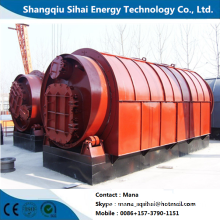 Plastic garbage refinery energy oil plant