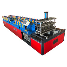Automatic big square plate adjustable roll forming machine