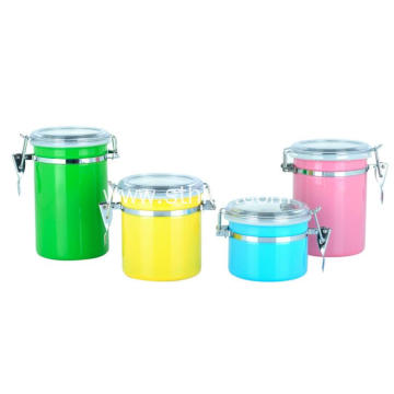 Colorful 410 Stainless Steel Condiment Containers