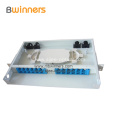 24 Fibre Fixed Rack-mount Fiber Optic Termination Box 19 Inch