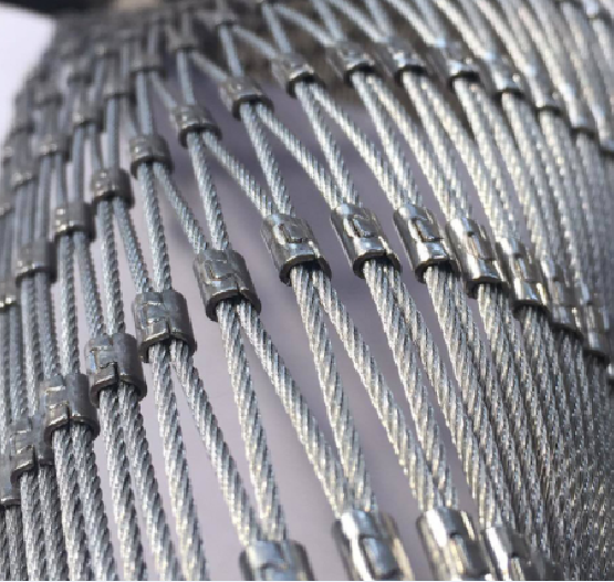stainless steel cable wire rope mesh