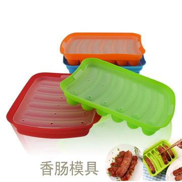 Silicone Handmade Hot Dog Sausage DIY Mold