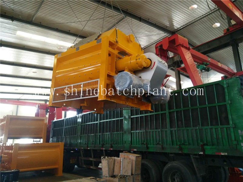 JS2000 Twin Shaft Concrete Mixer