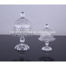Customized for Wedding Cake Stands Wholesale Glass Cake Plate With Glass Dome export to Costa Rica Manufacturers