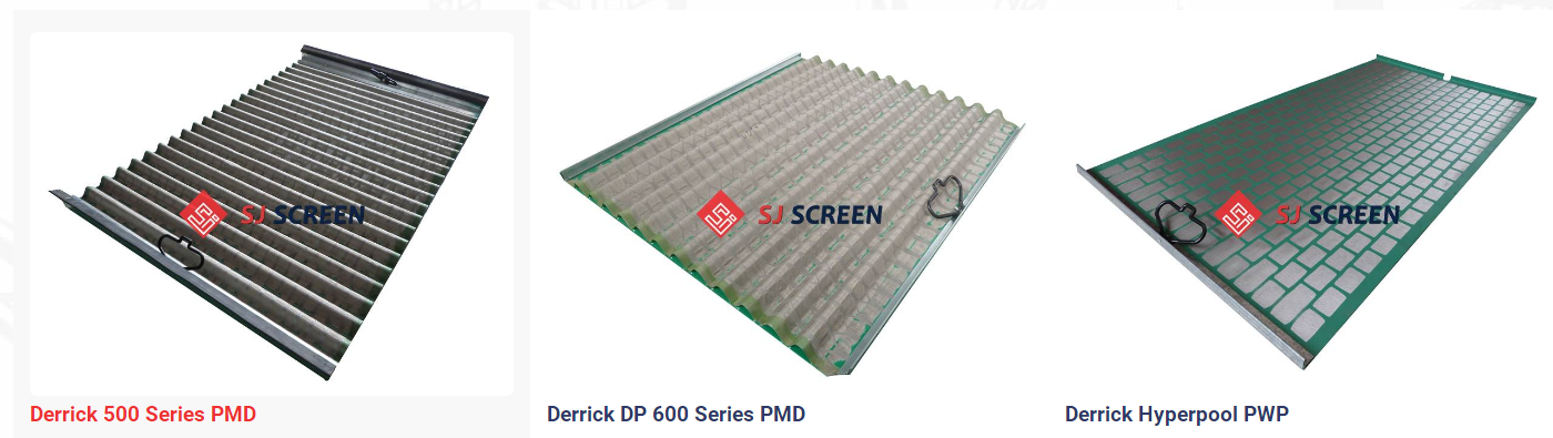 Derrick FLC2000 PWP shaker screen
