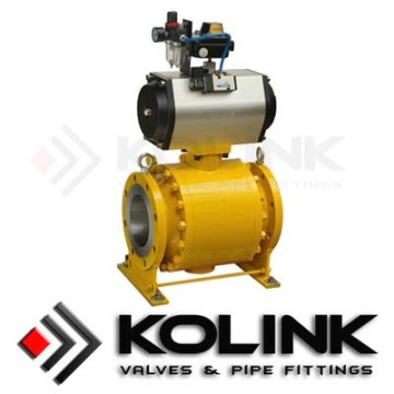 Good Quality for Automated Ball Valve Pneumatic Actuated Ball Valve export to Vietnam Factories