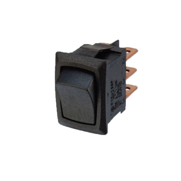 Electronic Momentary Rocker Switch with UL Certificates