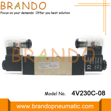 5/3 Way Pneumatic Air Control Valve 4V230C-08