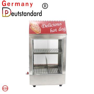 Hot dog steamer showcase display