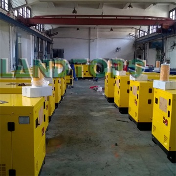 7.5KW Yuchai Series Silent Diesel Generators for Sale