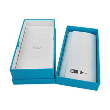 Paper Interior Cellphone Packaging Lid and Base Box