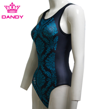 Custom Design Training Leotard Spandex Fitness For Girls
