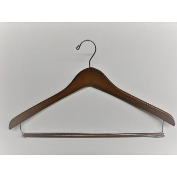 EISHO Curved Shape Wooden Hanger