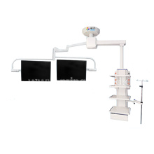 Single arm double monitor endoscopy center medical pendant