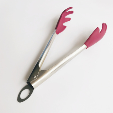 9 Inch Silicone tiped Claw  Tongs
