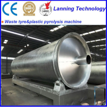 New Product for Waste Tyre Pyrolysis Machine automatic waste tyre recycle to oil pyrolysis equipment export to Sudan Manufacturers
